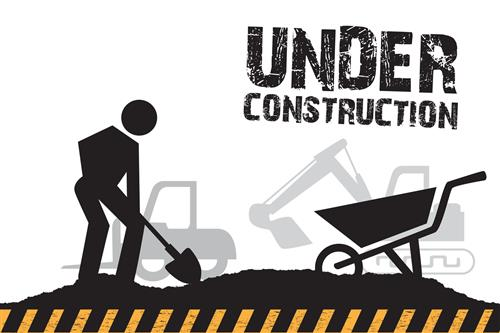 web page under construction icon