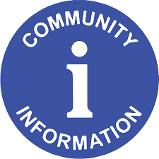 Community Information- Handouts in Entryway