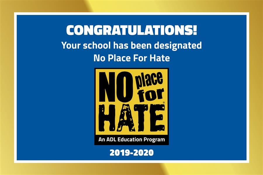 No Place for Hate 2019-2020