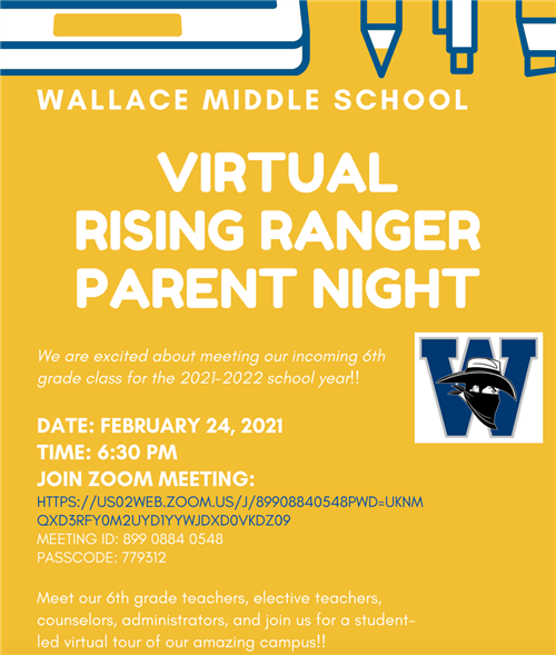 Middle School Parent Night