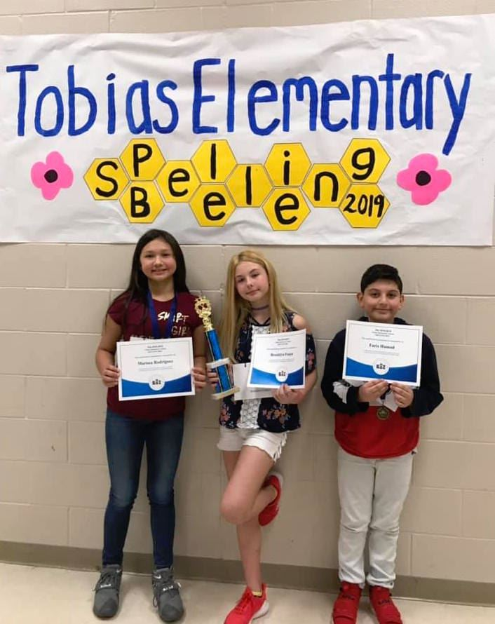 2nd Annual Tobias Spelling Bee