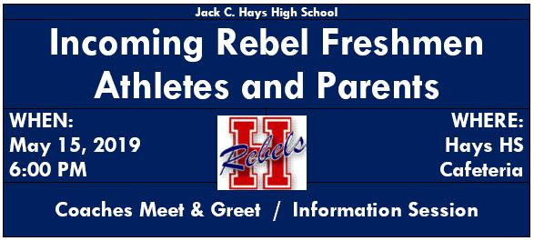 Incoming Rebel Freshmen: Coaches Meet & Greet