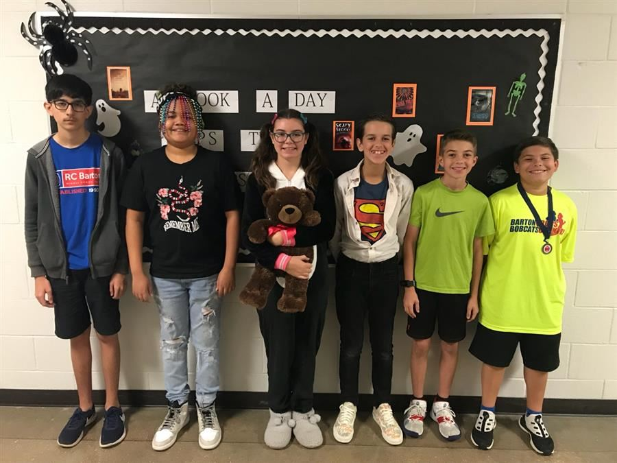 Students of the Month: October