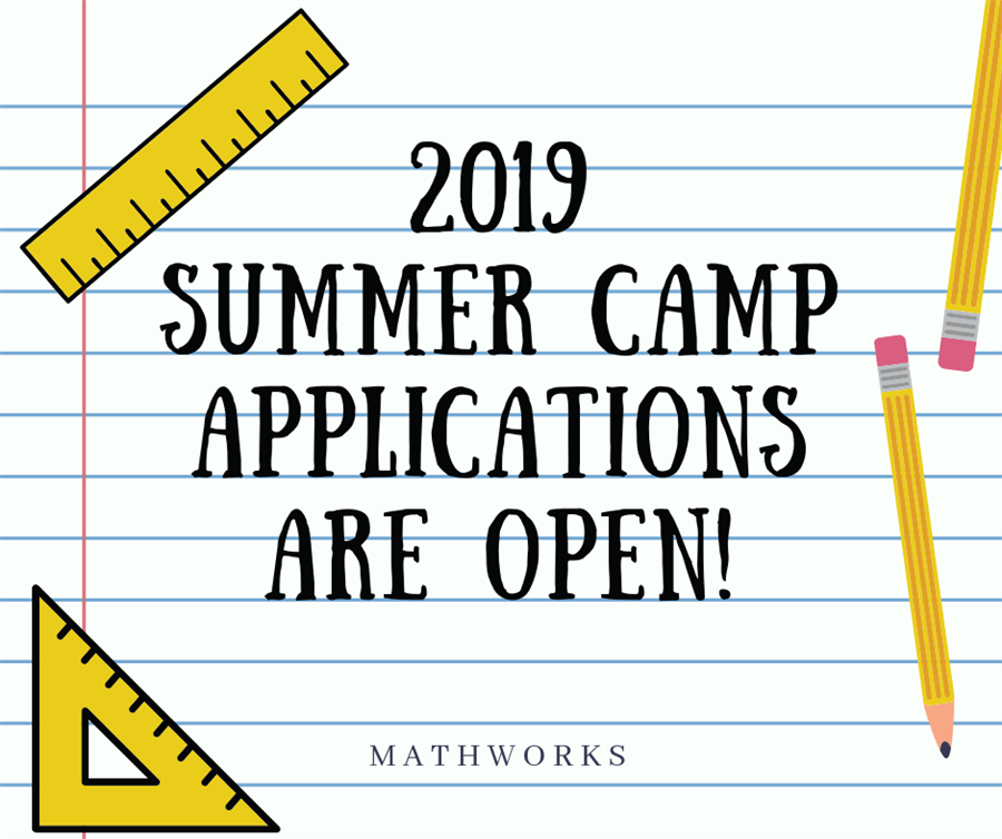2019 Applications Are Open