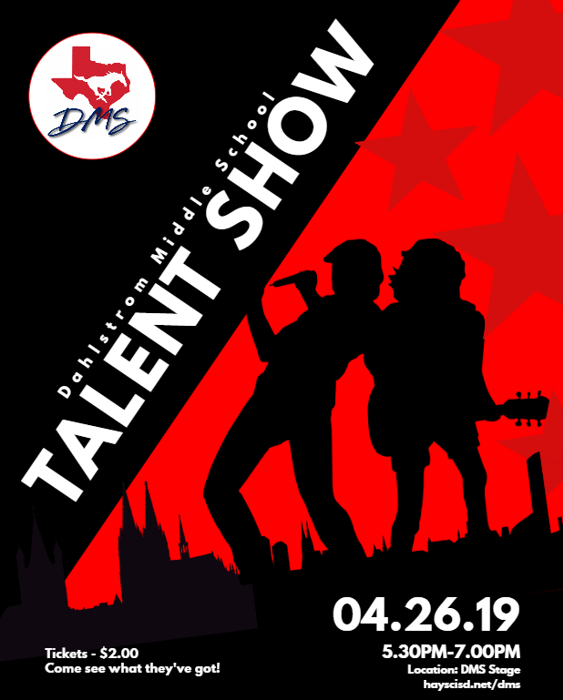 DMS Talent Show Scheduled