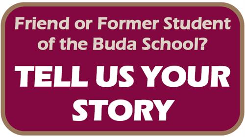 link to the survey to tell your stories about the historic buda campus