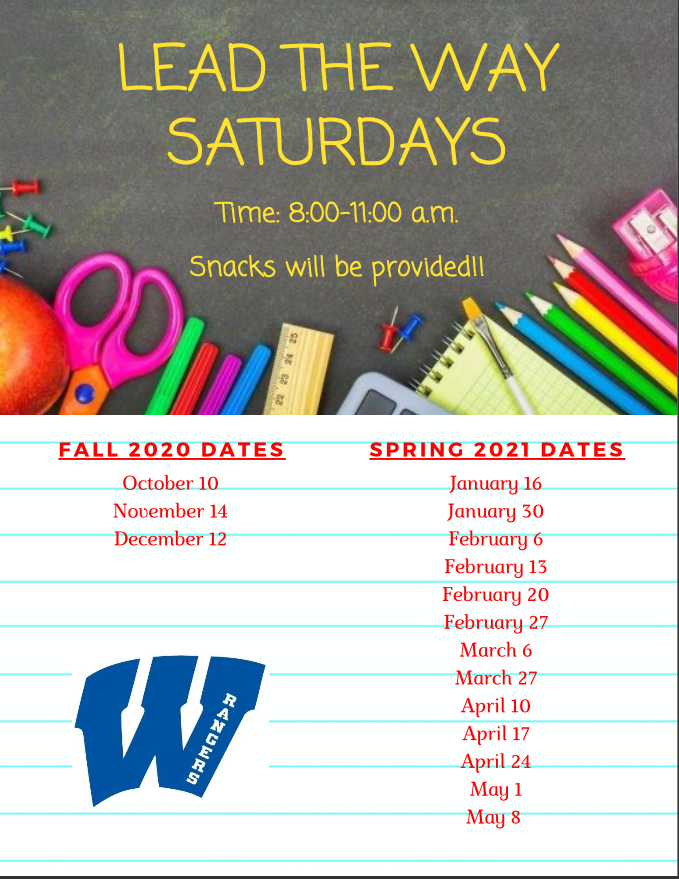 Lead the Way Saturdays 2020-2021