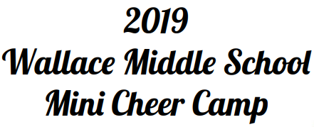 Wallace Mini Cheer Camp
