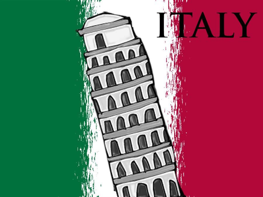 Italy graphic