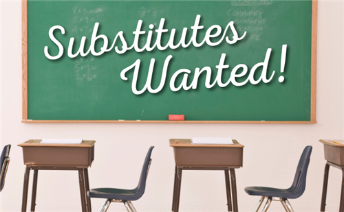 Substitutes Wanted!