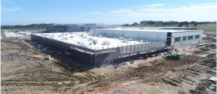photo of JHS construction progress