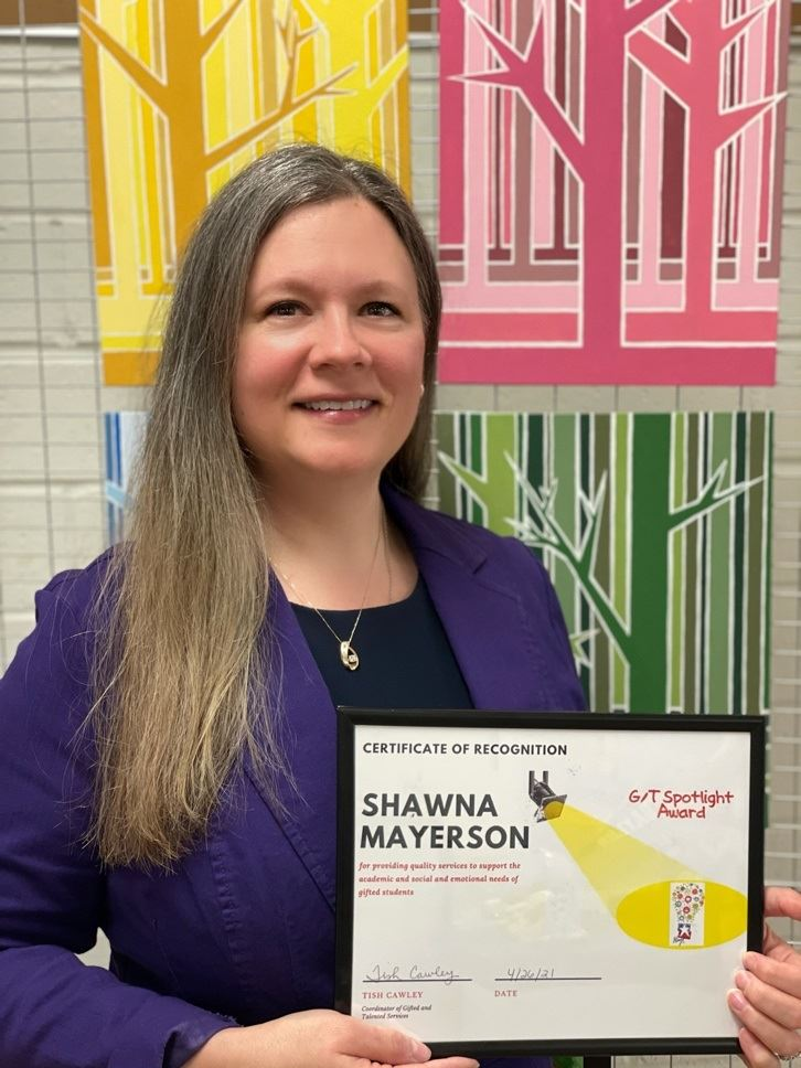 Shawna Mayerson Receives the GT Spotlight Award