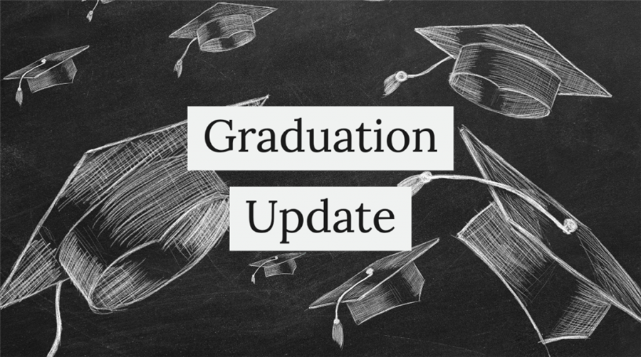 Here are some important dates you need to know about with regard to graduation.