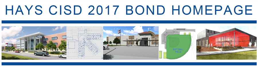 decorative title photo for Hays CISD 2017 Bond Homepage