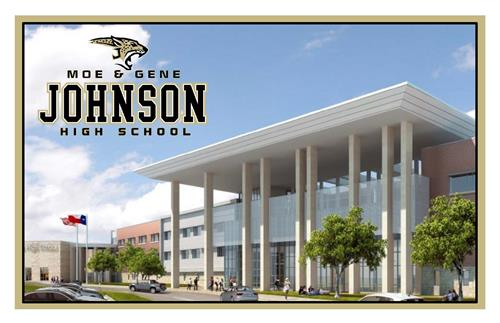 link to decorative photo of Johnson HS ribbon cutting invitation