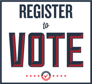 decorative photo about voter registration