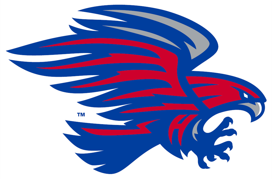 decorative logo of Hays High School hawk logo