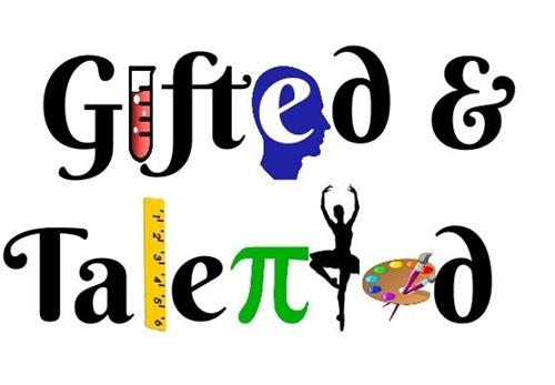 pictures of the words gifted and talented