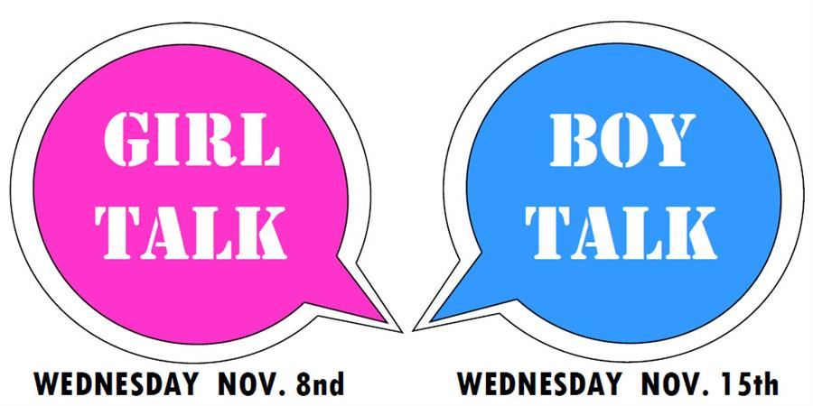 Girl Talk - Boy Talk graphic