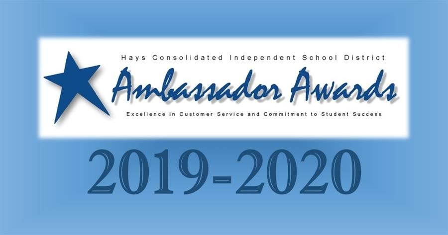 Ambassador Award Logo for 2019-2020