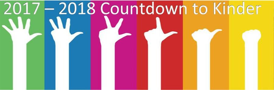 countdown to kinder graphic