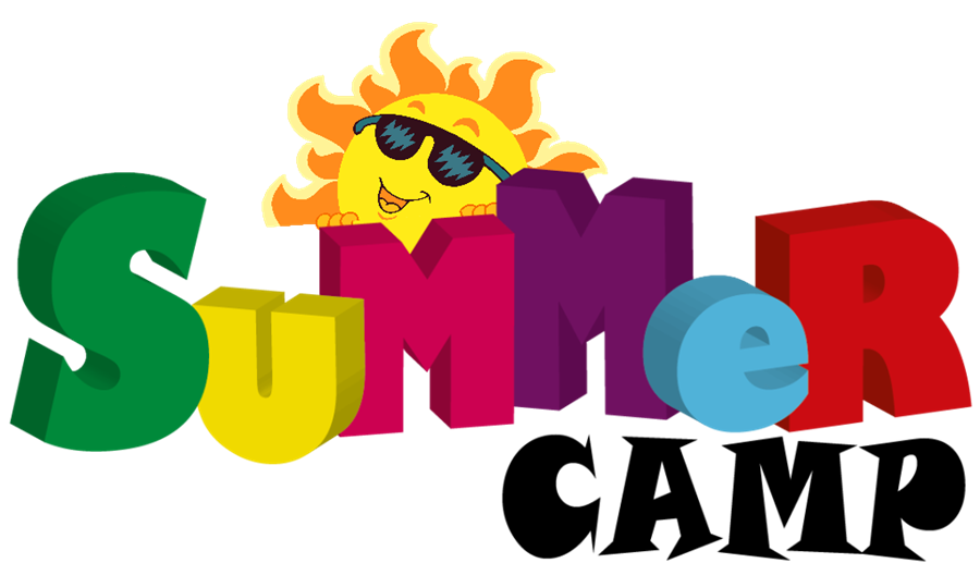 decorative image that says summer camp