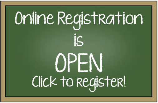 Online Student Registration Now Open!
