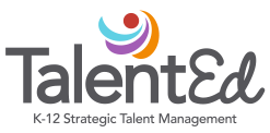 Talent Ed logo at link button