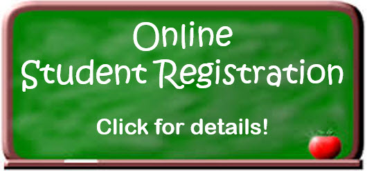 Online Student Registration graphic