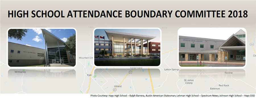 decorative photo for title of page - High School Attendance Boundary Committee 2018
