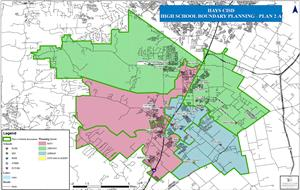 Kyle Tx Zip Code Map.Student Services High School Attendance Rezoning For 2019 2020