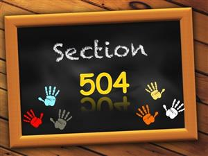 Section 504 graphic