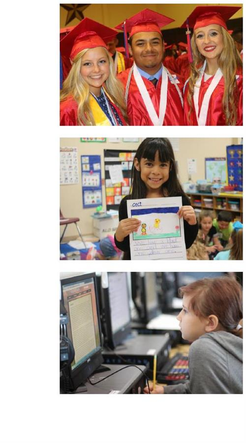 photos of Hays CISd students