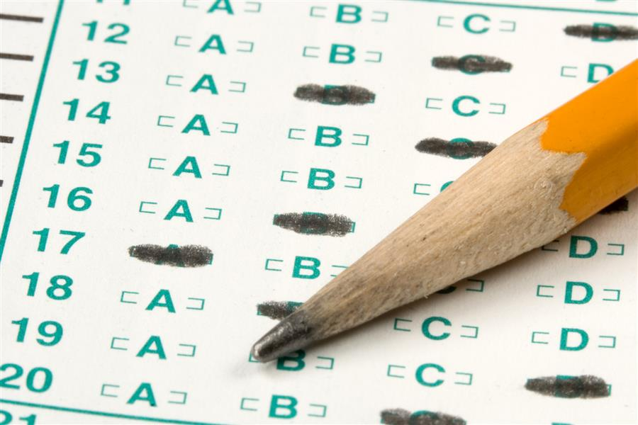 standardized test graphic